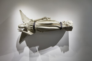 David Ireland, Angel, 1997; Paint and fiberglass; Collection of di Rosa Center for Contemporary Art