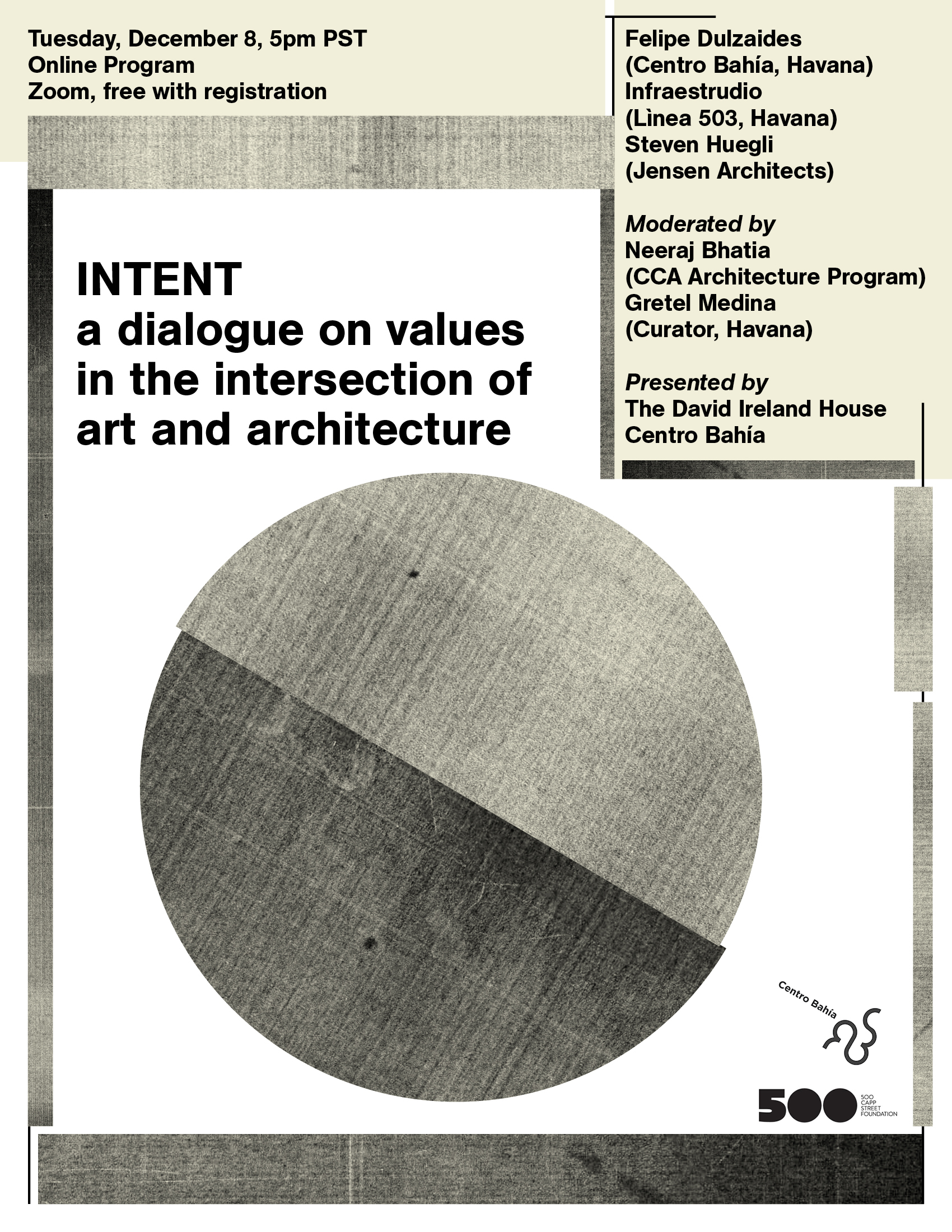 INTENT: a dialogue on values in the intersection of art and architecture